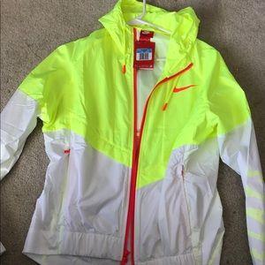 Nike neon windbreaker